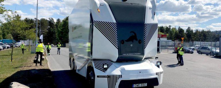 Bez řidiče na cestách: autonomní kamion T-Pod testuje ostrý provoz